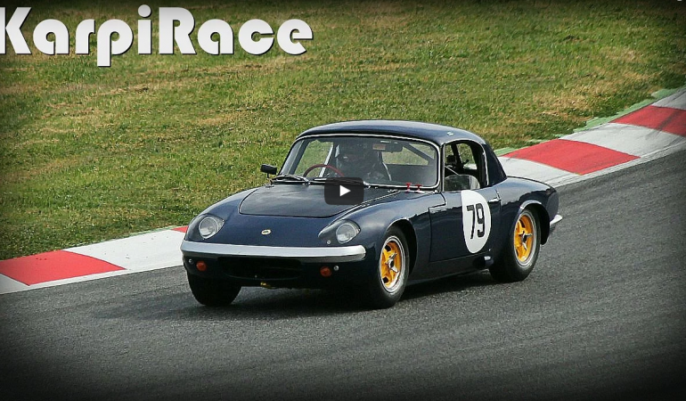 Lotus Elan – 1960s Race Car – Montjuïc Revival 2015