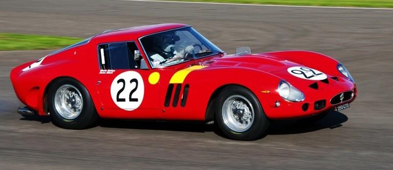 Ferrari 250 GTO – Nick Mason – 1962