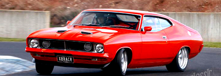 "Ford Falcon XB coupe ""Eric Bana"" – 1974"
