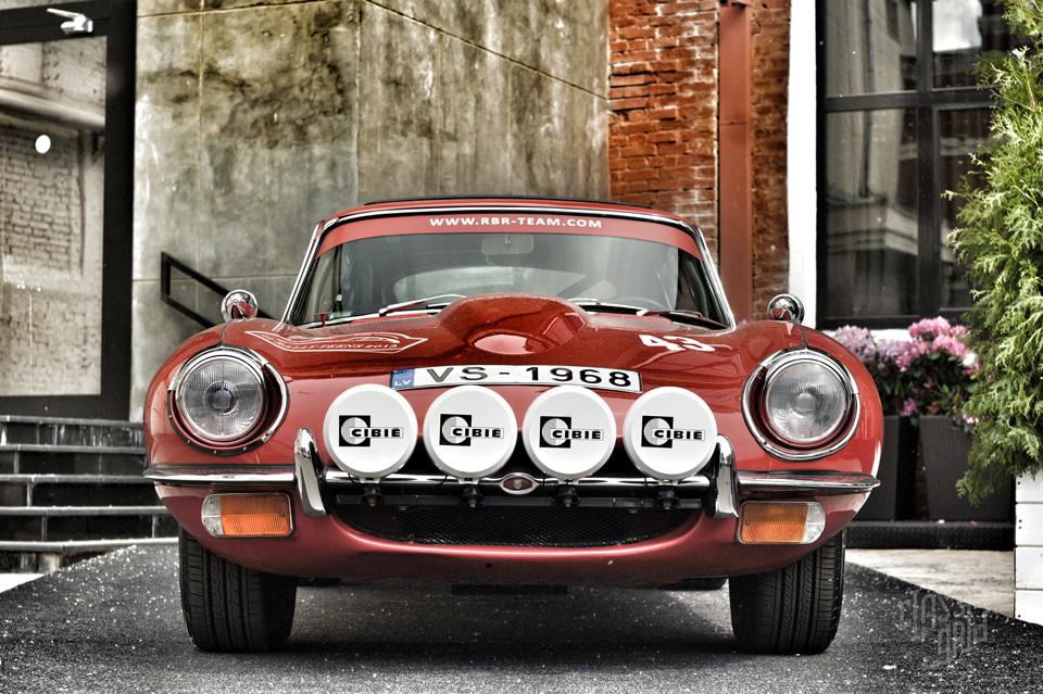 Jaguar E Type RBR