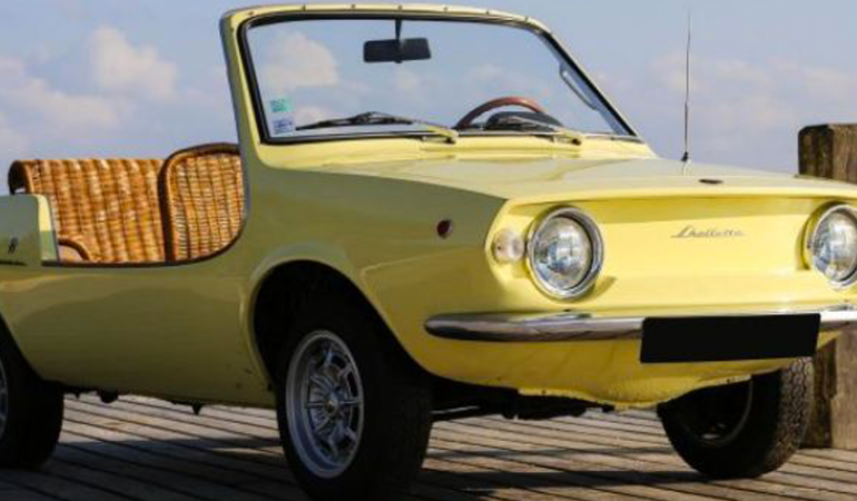 Fiat Shellette – Beach Car – 1972 – Philippe Stark