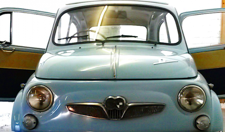 Steyr Puch 500 – 1960 – One the 2 Right Hand Drive remaining