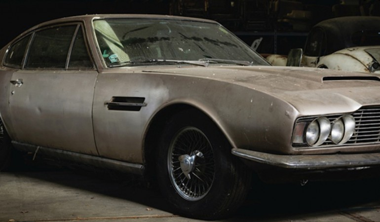 "Aston Martin DBS – 1968 – The true definition of ""barn find"""
