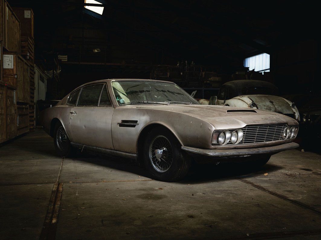 Aston Martin DBS A Great Restoration Project - Aston martin restoration project for sale