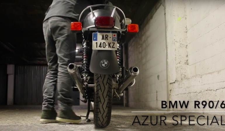 BMW R90/6 – #BlueGranny Azur Special – Pt2 Chasing Napoleon
