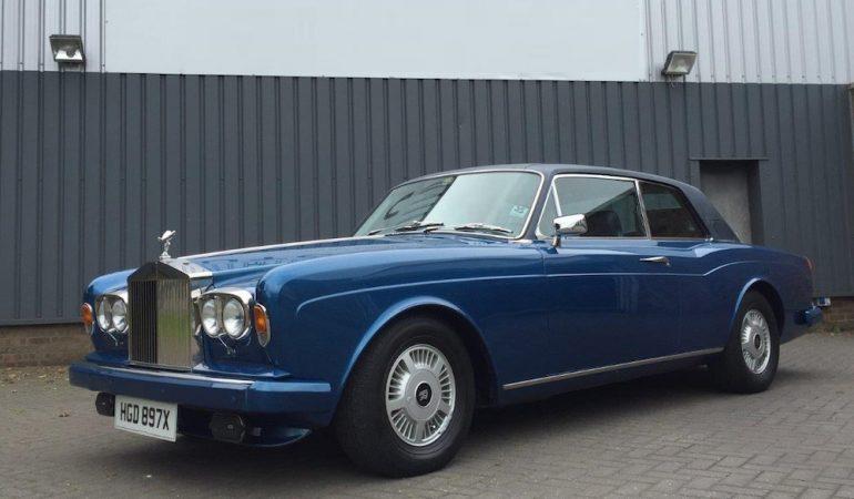 La Rolls-Royce Corniche di R2-D2 all'asta con Classic Car Auctions