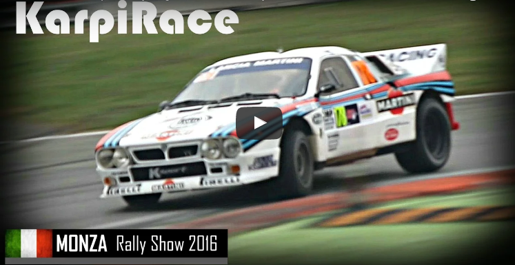 Lancia 037 Group B – Le storiche al Monza Rally Show 2016