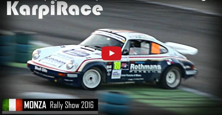 Porsche 911 – Le storiche al Monza Rally Show 2016