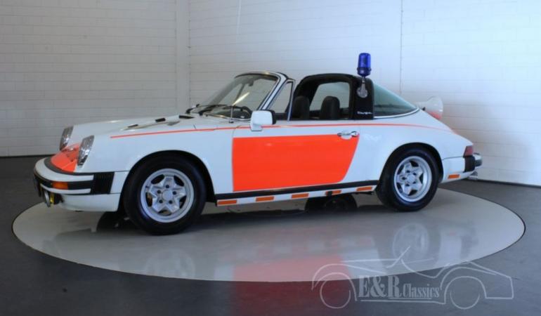 Porsche 911 SC Targa – Polizia Olandese – 1978