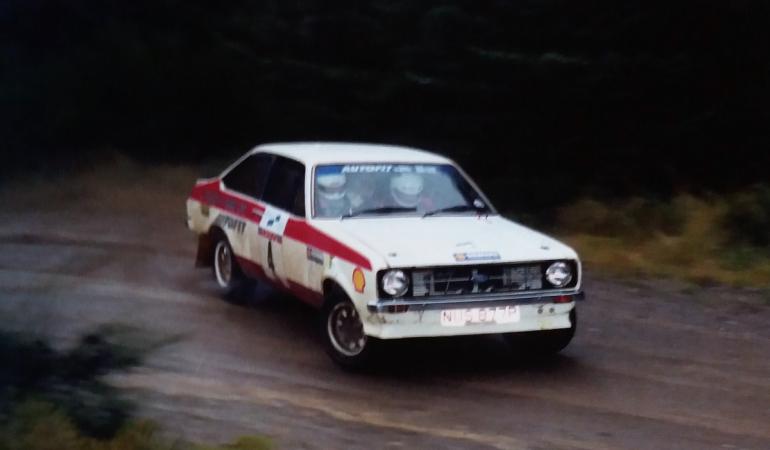 Ford Escort Mk ll – 1976 – Dalla famiglia di un certo Colin McRae