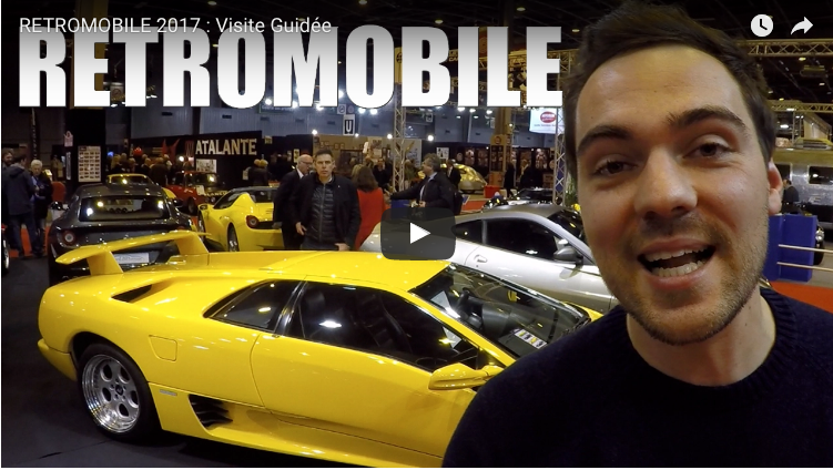 Retromobile 2017 parigi visita del salone by car for Salone mobile parigi