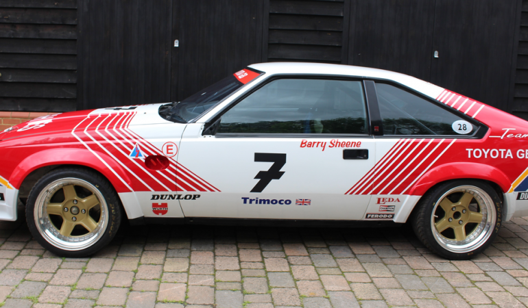 Toyota Supra Group A Touring Car (ex Barry Sheene) – 1985